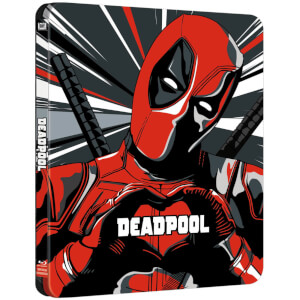 Deadpool - 4K Ultra HD Zavvi Exclusive Limited Edition Steelbook (Includes 2D Version)