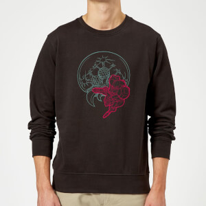 Sweat Homme Super Metroid (Nintendo) Samus And Mother Brain - Noir