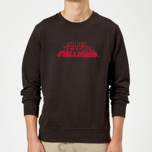 Nintendo Super Metroid Retro Logo Sweatshirt - Black