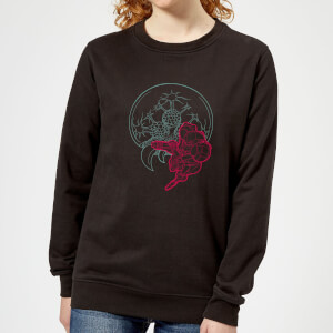 Nintendo Super Metroid Samus And Mother Brain Women's Sweatshirt - Black