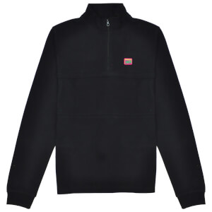 Reynolds 753 Quarter Zip Jumper - Black