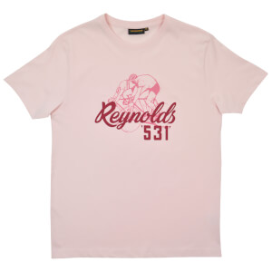 Reynolds 531 Cyclists T-Shirt - Pink