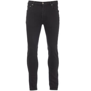 D-Struct Men's 5 Pocket Slim Fit Jeans - Black