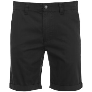 D-Struct Men's Miko Chino Shorts - Black