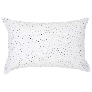 Christy Junior Speckles Jersey Pillowcase - Indigo