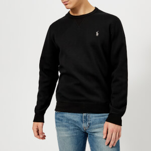 Polo Ralph Lauren Men's Crew Neck Tech Sweatshirt - Polo Black/Windsor Heather