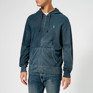 Polo Ralph Lauren Men's Terry Zipped Hoody - Aviator Navy