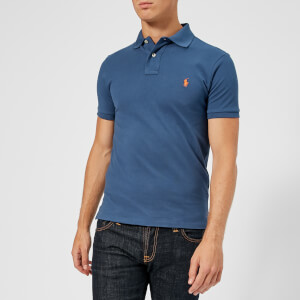 Polo Ralph Lauren Men's Slim Fit Mesh Polo Shirt - Light Navy