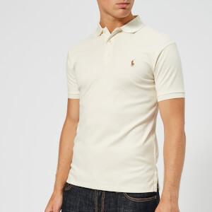 Polo Ralph Lauren Men's Slim Fit Pima Polo Shirt - Chic Cream