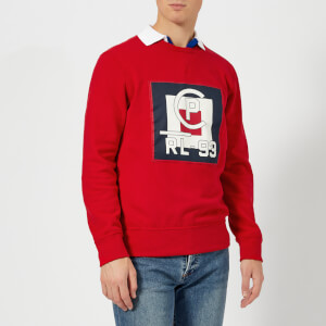 Polo Ralph Lauren Men's Regatta Logo Sweatshirt - Polo Sport Red