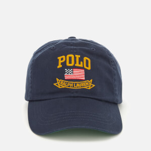 Polo Ralph Lauren Men's Cotton Chino Classic Sports Cap - Newport Navy