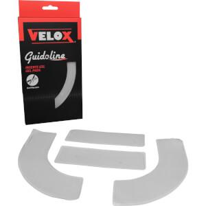 Velox Handlebar Gel Inserts 4pk - Clear