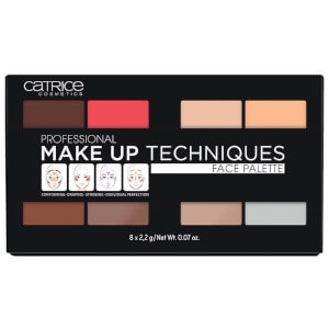 catrice COSMETICS Professional Make Up Techniques Face Palette