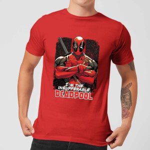 Marvel Deadpool Crossed Arms T-Shirt - Rot