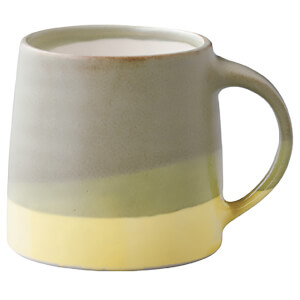 Kinto SCS Mug - 320ml - Moss Green X Yellow