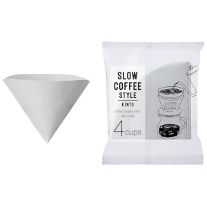 Kinto SCS Cotton Paper Filters - 60 Sheets - 4 Cups