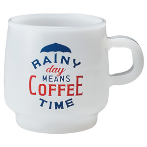 Kinto SCS Sign Paint Mug - Rainy