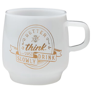 Kinto SCS Sign Paint Mug - Think