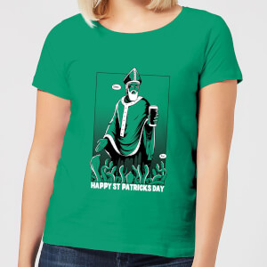 Beershield St. Patricks Day Women's T-Shirt - Kelly Green