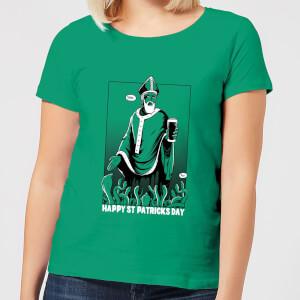 Beershield St. Patricks Day Women's T-Shirt - Kelly Green