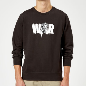 Sweat Homme Marvel - Noir