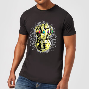 Marvel Avengers Infinity War Fist Comic T-shirt - Zwart