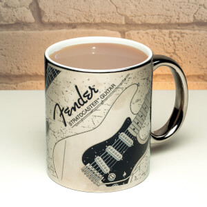 Fender Chrome Mug
