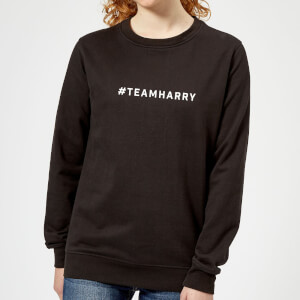 #TeamHarry Women's Sweatshirt - Black
