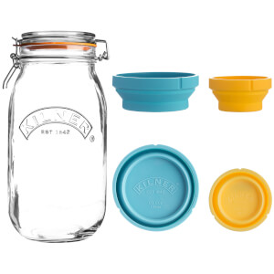 Kilner Measure And Store Jar Set 2 Litre