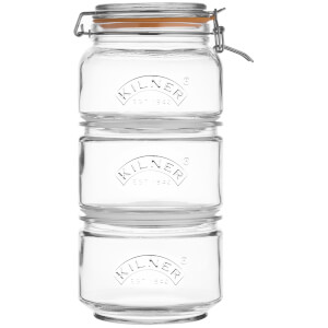 Kilner Stackable Storage Jar Set