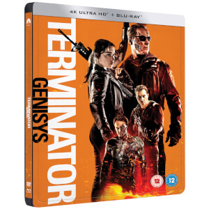Terminator Genisys - 4K Ultra HD - Zavvi UK Exclusive Limited Edition Steelbook