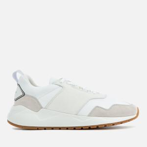 Buscemi Men's Ventura Runner Style Trainers - White/White