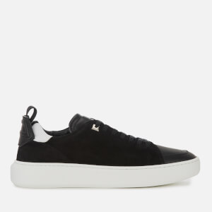 Buscemi Men's Uno Sport Suede Low Top Trainers - Black