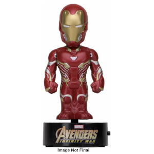 Figurine Solaire Iron Man Avengers: Infinity War NECA Body Knocker