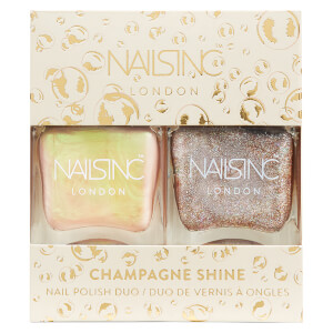 Duo de Vernizes de Unhas Trend Duo Champagne Shine da nails inc. 2 x 14 ml