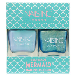 nails inc. Trend Duo Self-Made Mermaid Nail Polish Duo 2 x 14ml