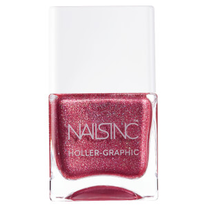 nails inc. Holler Graphic Nail Polish - Molten My Day 14ml