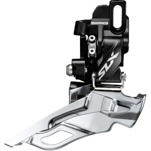 Shimano SLX M7005 Triple 10-Speed Front Derailleur - Dual Pull