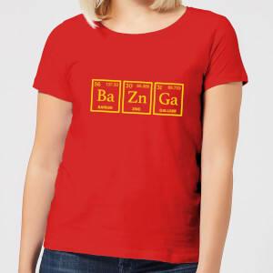 Ba Zn Ga Women's T-Shirt - Red