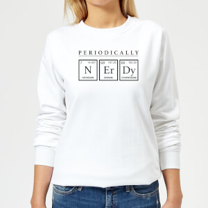 Periodically Nerdy Women's Sweatshirt - White