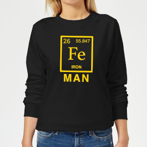 Fe Man Women's Sweatshirt - Black