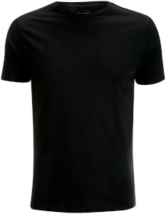D-Struct Men's Premium Soft Touch Crew Neck T-Shirt - Black