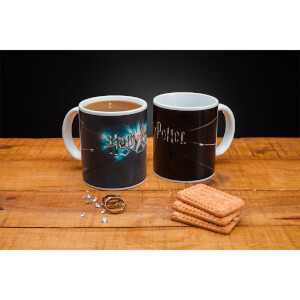 Harry Potter Zauberstab Tasse mit Thermo-Effekt