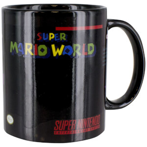 Super Mario World Tasse mit Thermo-Effekt
