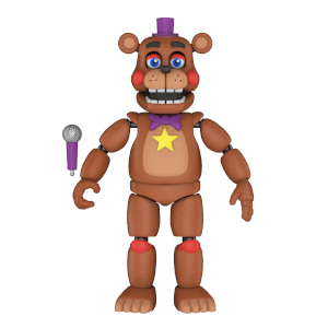 Five Nights at Freddy's Pizza Simulator - Rockstar Freddy Action Figur