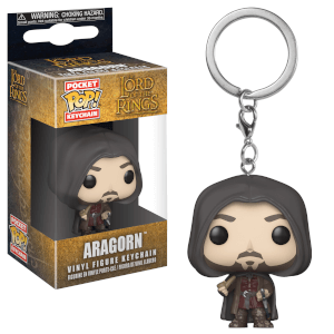 Lord of the Rings Aragorn Funko Pop! Vinyl Keychain