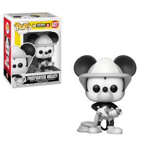 Disney Mickey's 90th Firefighter Mickey Pop! Vinyl Figur