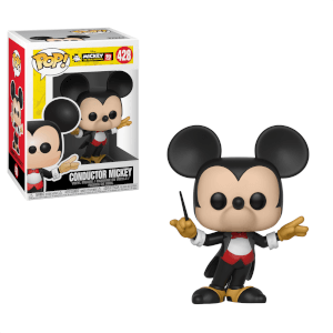 Figurine Pop! Mickey Chef D'Orchestre 90 ans de Mickey Disney