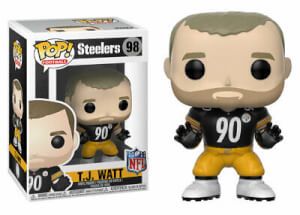 NFL TJ Watt Pop! Vinyl Figure