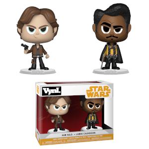 Figuras Funko Vynl. Han Solo y Lando Calrissian - Han Solo: Una historia de Star Wars